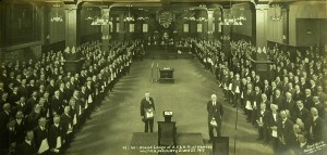 Speaking before the 1917 Annual Communication of the Grand Lodge of Kansas