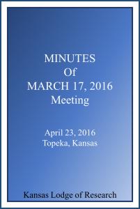KSLOR-20160317-Minutes-Cover